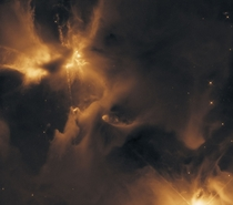 The Protostar Herbig-Haro  captured by the Hubble Space Telescope