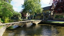 The quaint village of Bourton-on the-Water