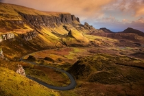 The Quiraing Island of Skye Scotland