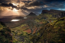 The Quiraing Isle of Skye Scotland by Florent Criquet