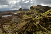 The Quiraing Sartle Scotland UK by INNES