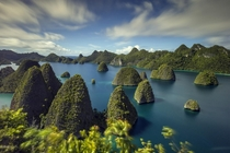 The Raja Ampat Islands in Indonesian West Papua  photo by Ronni Santoso