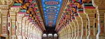 The Ramanathaswamy Temple in Tamil Nadu India The temples outer corridor has  pillars Most of these are carved with individual compositions