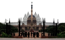 The Rashtrapati Bhavan Presidential Palace is the official residence of the President of India