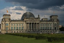 The Reichstag Berlin Germany renovated by Norman Foster