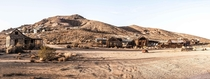 The remaining ghost town that was the Tropico gold mine in Rosamond CA