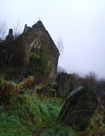 The Remains of an Abbey and Cemetery Photo by Samantha Creary