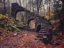 The remains of Madame Sherri Castle New Hampshire