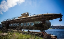 The remains of The Neptune built in  a Russian sight-seeing submarine taken out of use in