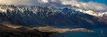 The Remarkables absolutely dwarf the hills surrounding Queenstown NZ
