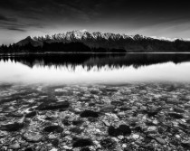 The Remarkables mountains in Queenstown New Zealand