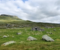 The remnants of a forgotten life Hardangervidda Norway near Hadlaskard cabin