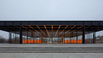 The restored Neue Nationalgalerie in Berlin by David Chipperfield Architects Completed in  the museum for modern art was one of Mies van der Rohes last major projects and his only building built in Germany following his emigration to the US