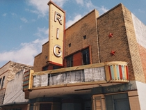 The Rig movie theater in Premont TX