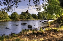 The River Mourne Northern Ireland