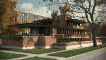 The Robie House by Frank Lloyd Wright