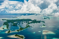 The rock islands of Palau a World Heritage Site since   photo by Mark Kenworthy