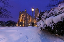 The Rockefeller Chapel at the University of Chicago  Photographed by Matt Frankel