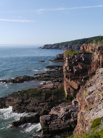 The Rocky Coast of the Bay of Fundy Cape Chignecto Provincial Park Nova Scotia Canada