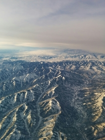 The Rocky Mountains as seen from my office