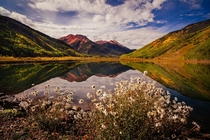The Rocky Mountains near Ouray Colorado  by Cinematic Photography x-post rUnitedStatesofAmerica