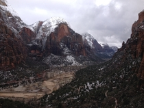 The Rocky Range Zion National Park  x