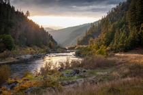 The Rogue River Canyon Oregon