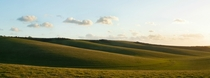 The rolling hills of Sussex England