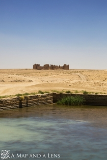 The Roman desert castle known as Bashir located in Jordan