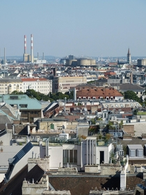 The rooftops of Vienna