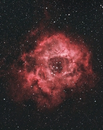 The Rosette Nebula- What you can get with a DSLR and telescope from your backyard