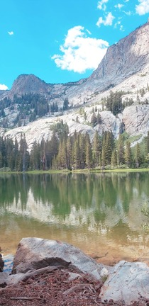 The rough hike up makes this view even more gratifying Fern Lake CA