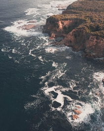 The rugged and untamed coast of Victoria Australia