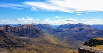 The rugged but beautiful landscape of Torridon Scotland Some of the oldest rocks in the world