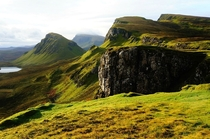 The rugged Isle of Skye Scotland