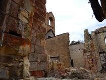 The Ruins of a Kansas Catholic Church Operated -