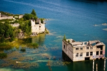 The ruins of an Estonian prison are drowning in the quarry lake where the convicts were once forced to work  by Aimar Aareleid