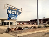 The Sahara Motel in Jordan Valley Oregon