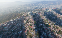 The San Augustn barrio of Caracas Venezuela
