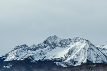 The Sawtooth Mountains Stanely Idaho on