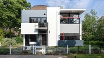 The Schroder House by Gerrit Rietveld in Utrecht Netherlands