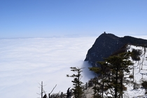 The Sea of Clouds Mount Emei China