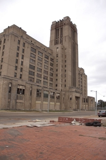 The Sears Crosstown building in Memphis Tennessee Built in  it was abandoned from  to  it is now an astounding vertical village containing apartments shops a high school a gym and an art gallery