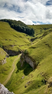 The Secret Valley in Peak District National Park United Kingdom - Filming location for the Princess Bride
