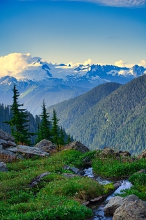 The seldom-visited Noisy-Diobsud Wilderness in the North Cascades