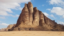 The Seven Pillars of Wisdom Wadi Rum Jordan