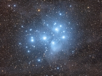 The Seven Sisters in a Dusty Veil