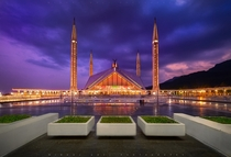 The Shah Faisal Mosque Islamabad