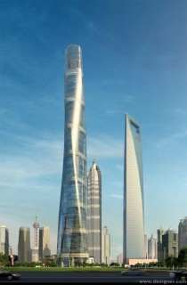 The Shanghai Tower World Financial Center By Gensler x