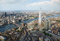The Shard dominating the London Bridge Quarter area